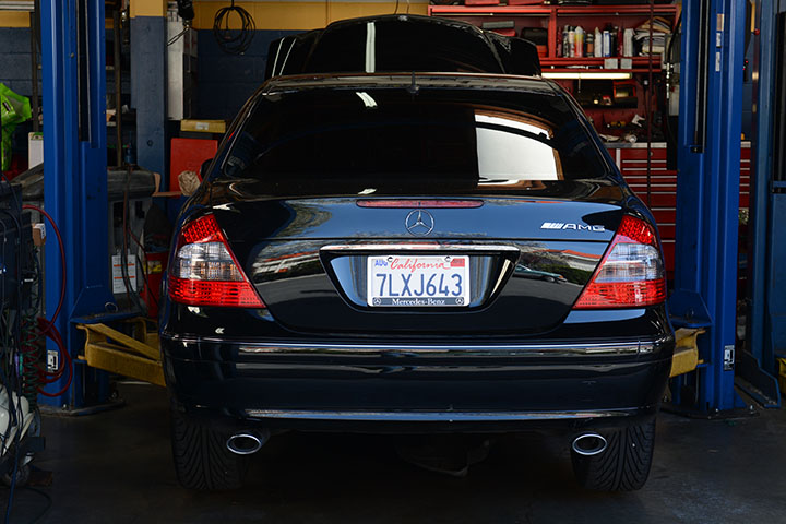 We maintain and repair Mercedes Benz cars and vehicles.
