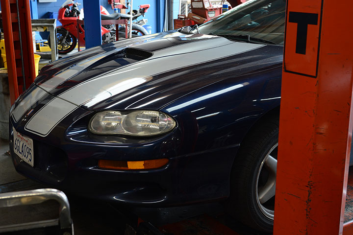 Sports cars and muscle cars are one of our favorites vehicles to repair and maintain.
